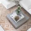 ZODIAC LIGHT  Brown / Mocha   Cream / White - Handmade Wall Rugs   Cowhide   Modern   Patchwork   Custom Rug