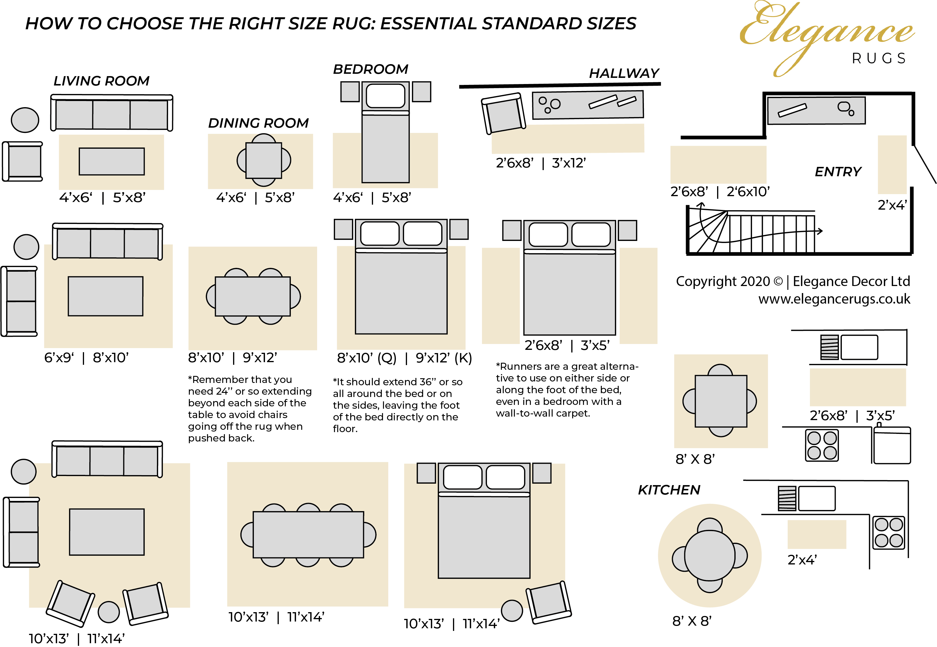Rug Size Guide
